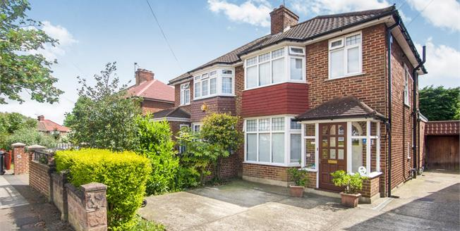 Asking Price £625,000, 3 Bedroom For Sale in London, NW9