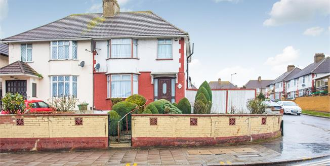 Offers Over £675,000, 3 Bedroom Semi Detached House For Sale in Wembley, HA0