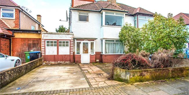 Guide Price £685,000, 5 Bedroom Semi Detached House For Sale in Wembley, HA9