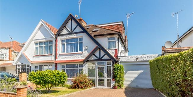 Asking Price £750,000, 4 Bedroom Semi Detached House For Sale in Wembley, HA9