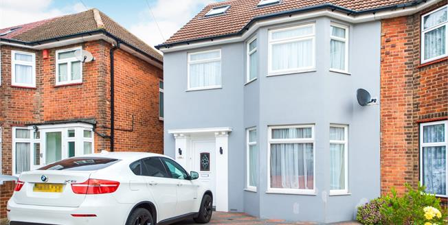 Offers in excess of £700,000, 5 Bedroom Semi Detached House For Sale in Wembley, HA9
