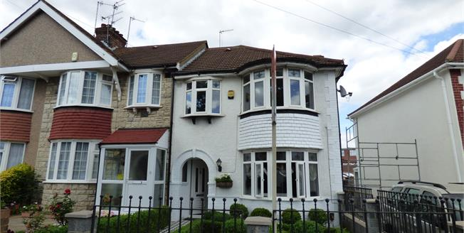 Offers in excess of £475,000, 3 Bedroom End of Terrace House For Sale in Greenford, UB6