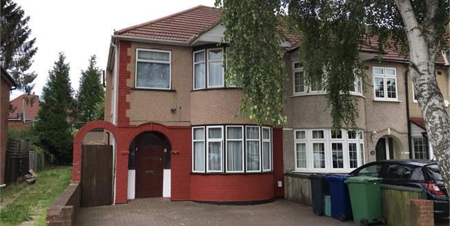 Asking Price £550,000, 4 Bedroom Semi Detached House For Sale in Northolt, UB5