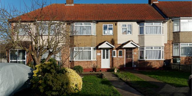 Asking Price £425,000, 3 Bedroom Terraced House For Sale in Uxbridge, UB10
