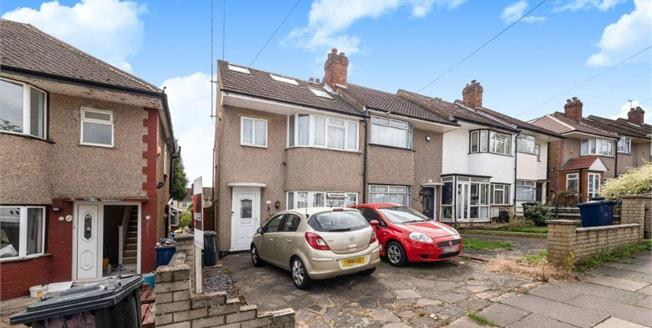 Asking Price £469,950, 3 Bedroom End of Terrace House For Sale in Northolt, UB5