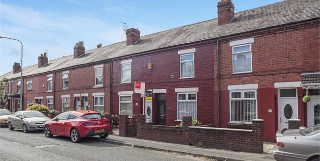 Offers Over £80,000, 2 Bedroom Terraced House For Sale in Warrington, WA2