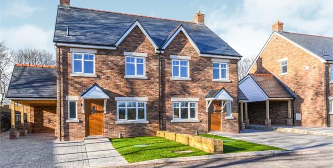 £460,000, 4 Bedroom Semi Detached House For Sale in Cheshire, WA4