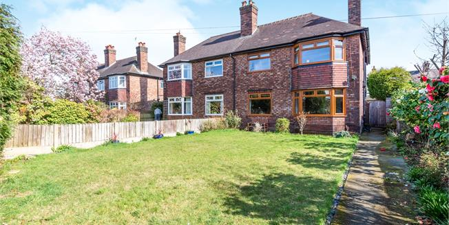 Asking Price £449,950, 4 Bedroom Semi Detached House For Sale in Stockton Heath, WA4