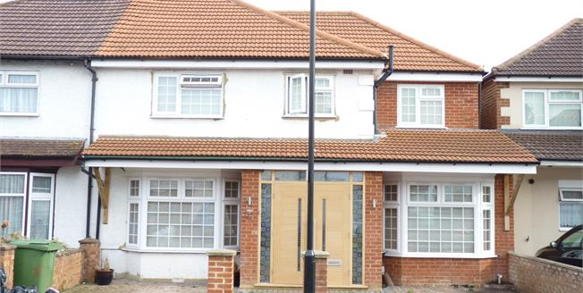 Asking Price £760,000, 4 Bedroom Semi Detached House For Sale in Greenford, UB6