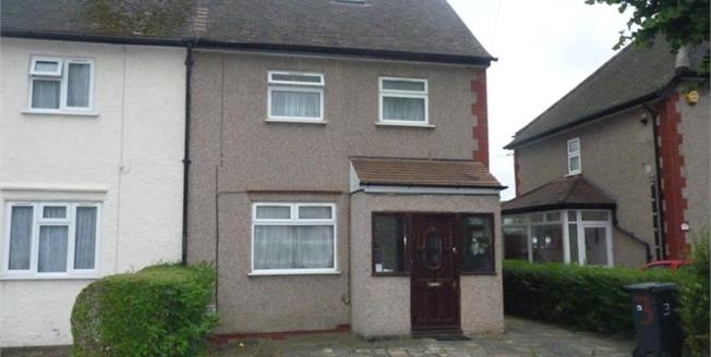 Asking Price £700,000, 6 Bedroom Semi Detached House For Sale in Wembley, HA0