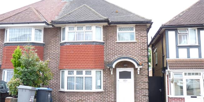 Asking Price £440,000, 3 Bedroom Semi Detached House For Sale in Wembley, HA9