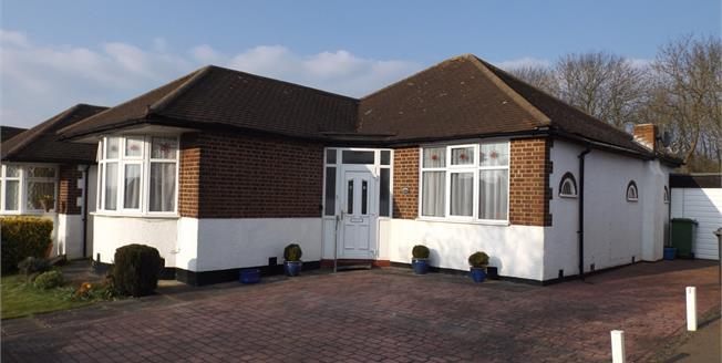 Asking Price £550,000, 3 Bedroom Detached Bungalow For Sale in Potters Bar, EN6