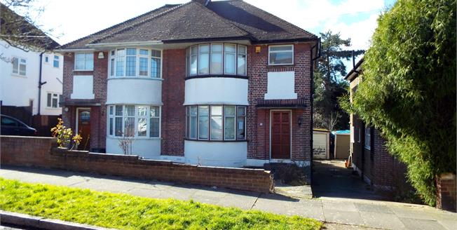Asking Price £600,000, 3 Bedroom Semi Detached House For Sale in London, N14