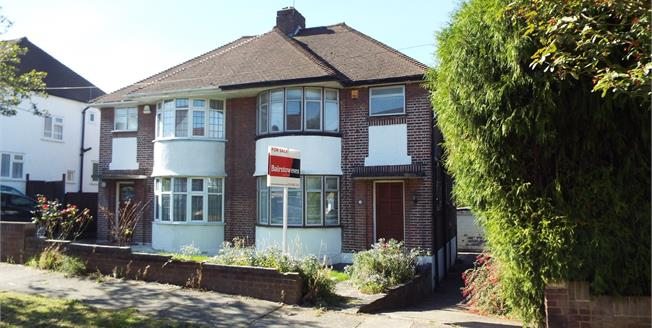 Asking Price £550,000, 3 Bedroom Semi Detached House For Sale in London, N14