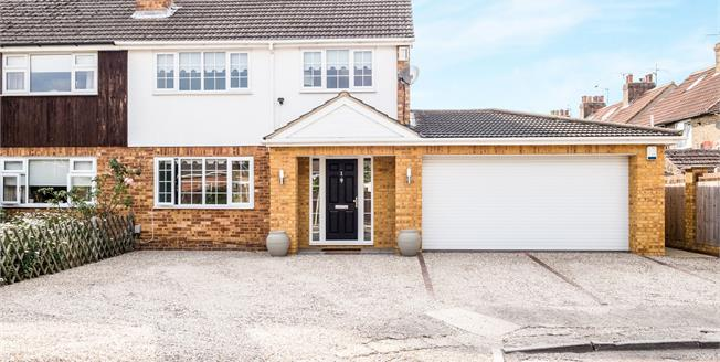 Offers in the region of £655,000, 4 Bedroom Semi Detached House For Sale in Cheshunt, EN8
