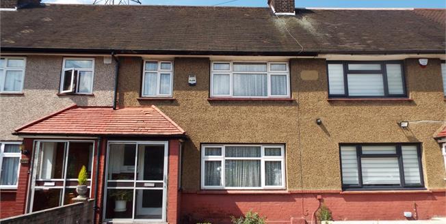 Offers in the region of £399,995, 3 Bedroom Terraced House For Sale in Enfield, EN1