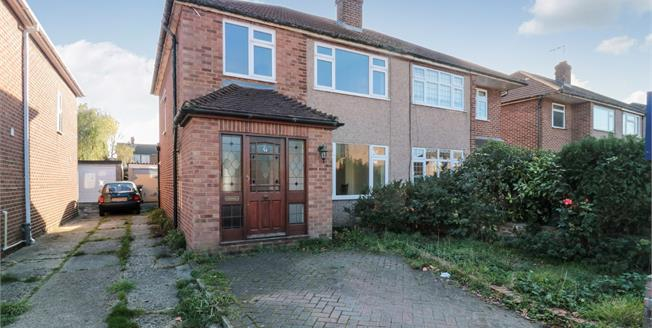 Asking Price £390,000, 3 Bedroom Semi Detached House For Sale in Cheshunt, EN8