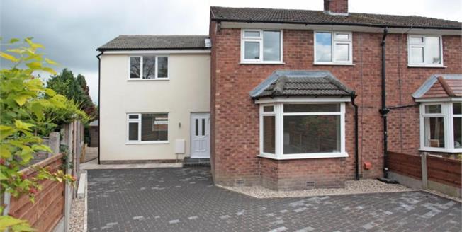 £389,950, 4 Bedroom Semi Detached House For Sale in Alderley Edge, SK9