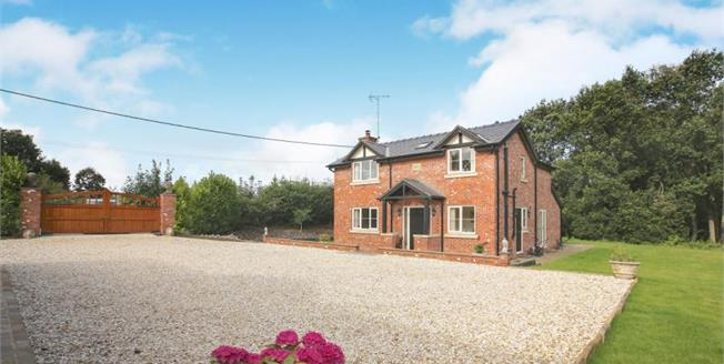 £785,000, 4 Bedroom Detached House For Sale in Eaton, CW12