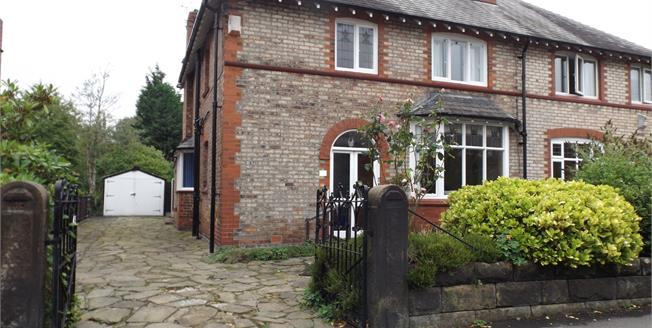 Offers Over £575,000, 3 Bedroom Semi Detached House For Sale in Hale, WA15