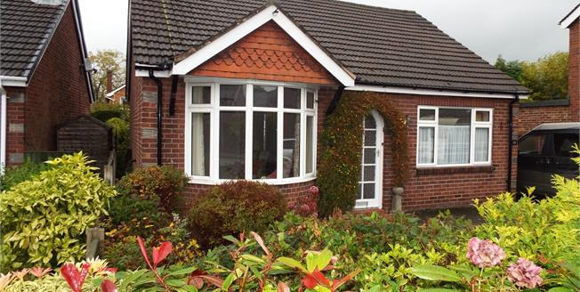 Guide Price £185,000, 2 Bedroom Detached Bungalow For Sale in Alsager, ST7