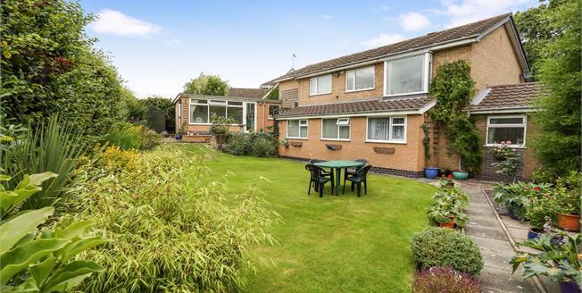 £365,000, 5 Bedroom Detached House For Sale in Alsager, ST7