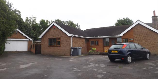 Guide Price £425,000, 5 Bedroom Detached Bungalow For Sale in Scholar Green, ST7