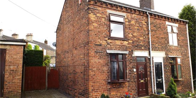 Offers Over £115,000, 2 Bedroom Semi Detached House For Sale in Mow Cop, ST7