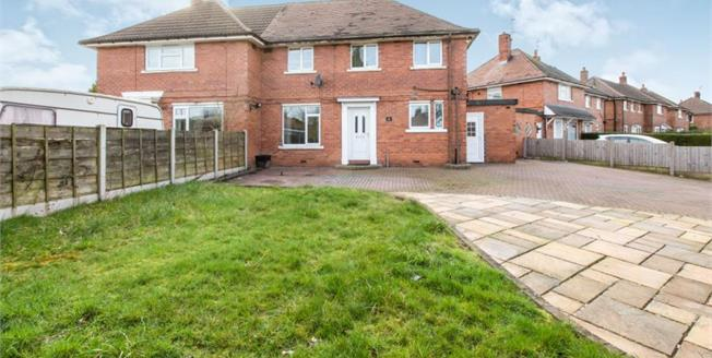 Offers Over £130,000, 3 Bedroom Semi Detached House For Sale in Talke, ST7