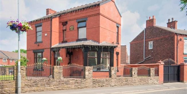 Offers Over £290,000, 3 Bedroom Detached House For Sale in Failsworth, M35