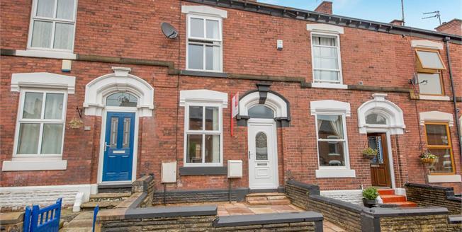 Offers Over £110,000, 2 Bedroom Terraced House For Sale in Ashton-under-Lyne, OL6