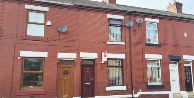 Offers Over £80,000, 2 Bedroom Terraced House For Sale in Ashton-under-Lyne, OL6
