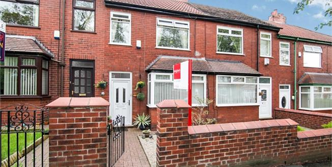 Asking Price £100,000, 2 Bedroom Terraced House For Sale in Oldham, OL8