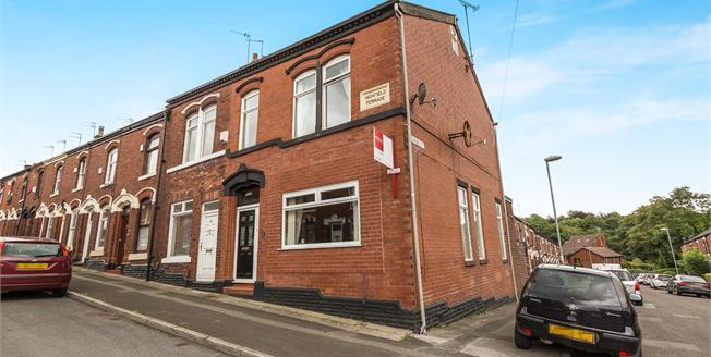 Offers in excess of £95,000, 2 Bedroom End of Terrace House For Sale in Ashton-under-Lyne, OL6