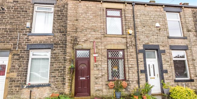 Offers in excess of £90,000, 2 Bedroom Terraced House For Sale in Mossley, OL5