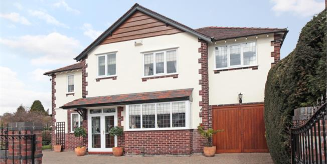 Guide Price £550,000, 4 Bedroom Detached House For Sale in Stockport, SK3