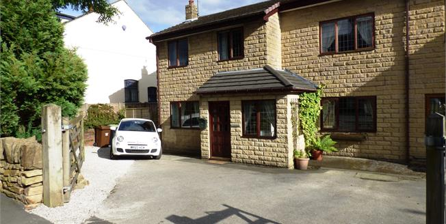 Asking Price £275,000, 4 Bedroom Semi Detached House For Sale in Chinley, SK23