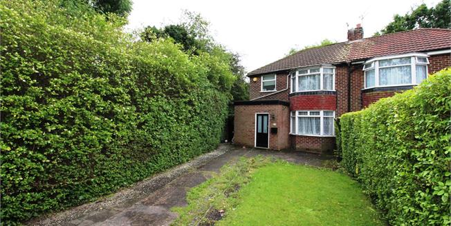 Offers Over £190,000, 3 Bedroom Semi Detached House For Sale in Cheadle, SK8