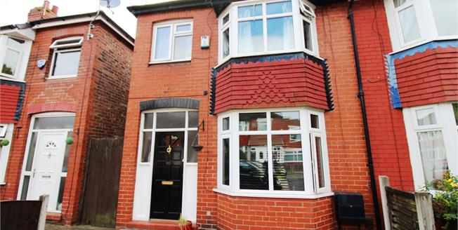 Guide Price £180,000, 3 Bedroom Semi Detached House For Sale in Stockport, SK3