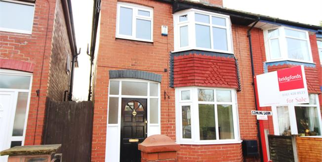 Offers Over £180,000, 3 Bedroom Semi Detached House For Sale in Stockport, SK3