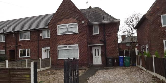 Guide Price £135,000, 3 Bedroom Semi Detached House For Sale in Manchester, M22