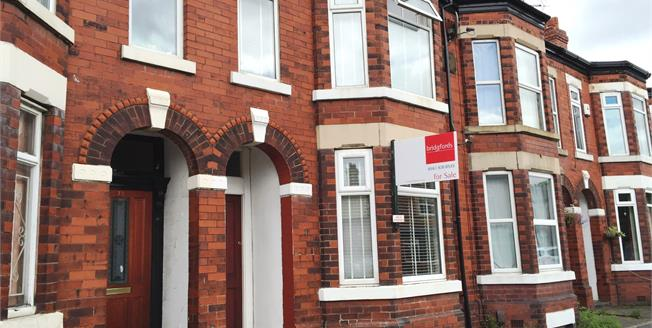 Guide Price £209,950, 2 Bedroom Terraced House For Sale in Cheadle, SK8