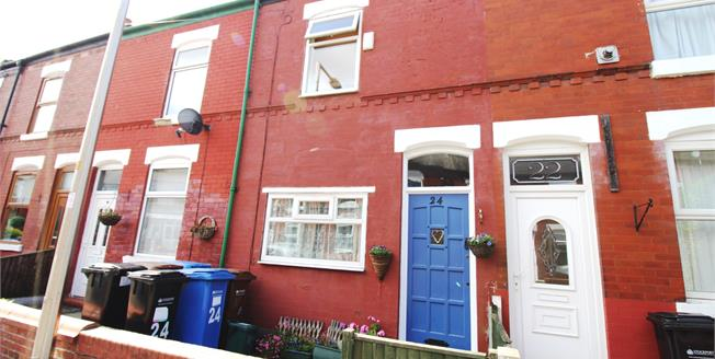 Offers Over £130,000, 2 Bedroom Terraced House For Sale in Stockport, SK3