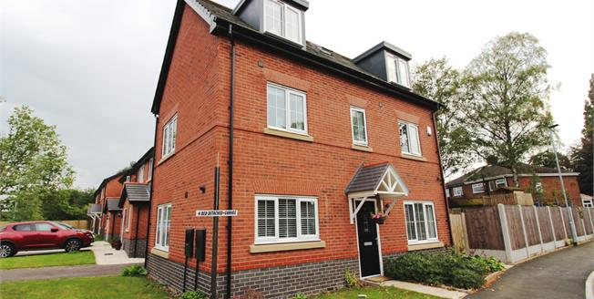 Guide Price £335,000, 4 Bedroom Detached House For Sale in Manchester, M22