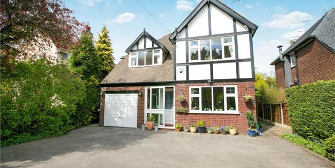 Guide Price £620,000, 5 Bedroom Detached House For Sale in Cheadle Hulme, SK8