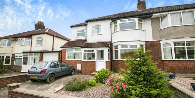 Asking Price £345,000, 4 Bedroom Semi Detached House For Sale in Cheadle Hulme, SK8