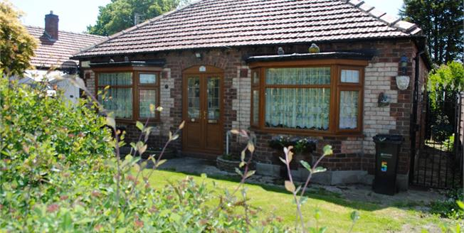 Asking Price £300,000, 2 Bedroom Detached Bungalow For Sale in Stockport, SK8