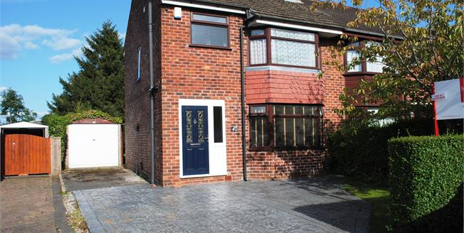 Offers Over £230,000, 3 Bedroom Semi Detached House For Sale in Cheadle Hulme, SK8