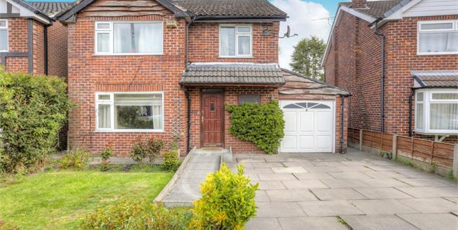 Offers Over £400,000, 3 Bedroom Detached House For Sale in Cheadle Hulme, SK8