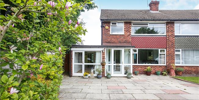 Offers Over £300,000, 3 Bedroom Semi Detached House For Sale in Heald Green, SK8